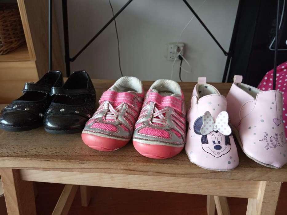 Zapatos marca Disney (Minnie Mouse) y Stride Ride