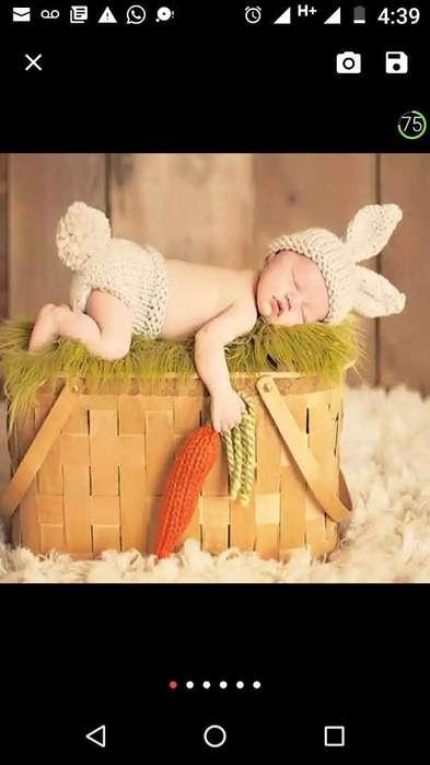 Traje Disfraz Conejo Bebe Tierno Suave