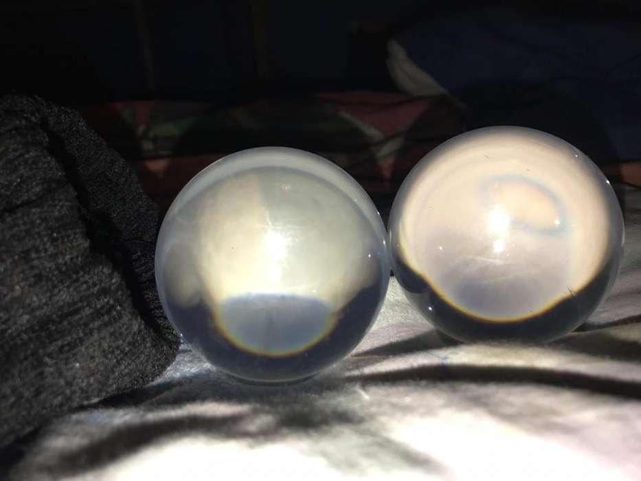 Esferas de Cristal O Bolas de Contacto.