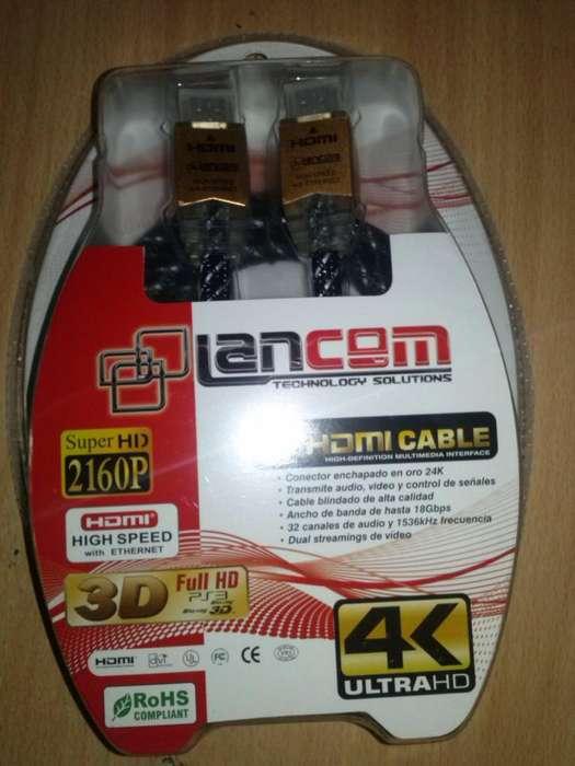 Cable Hdmi Blindado DE ORO