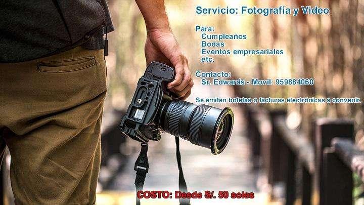 FOTOGRAFÍAS Y FILMACIONES EN FULL HD - TODO LIMA Y CALLAO