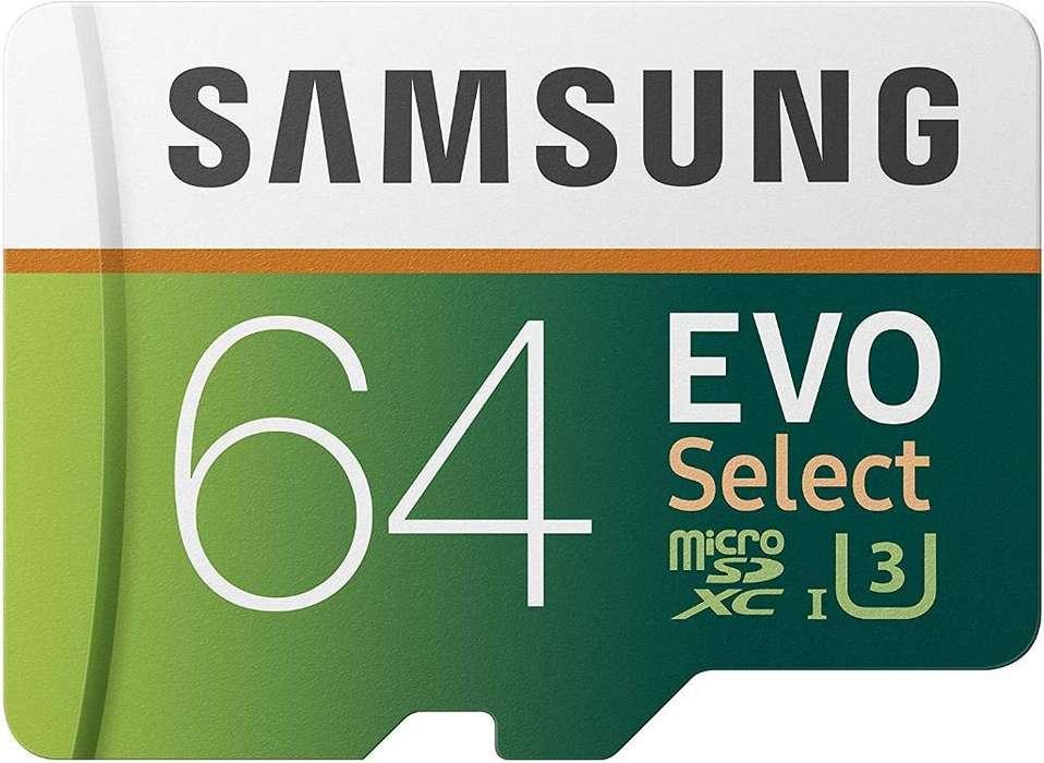 Tarjeta de Memoria Samsung de 64 Gb