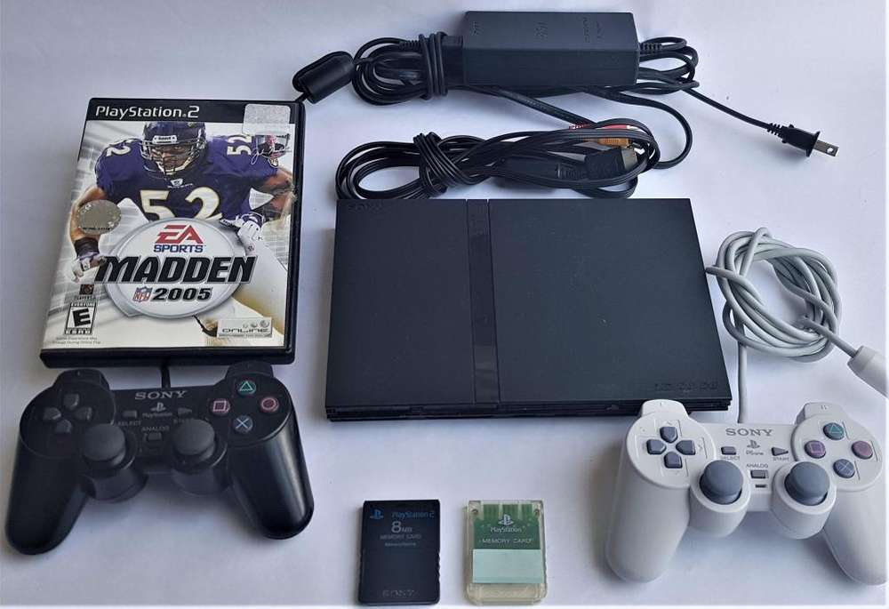 Play Station 2 Ps2 con 2 Controles