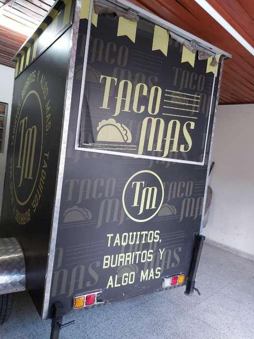TRAILER FOOD TRUCK CON FRANQUICIA