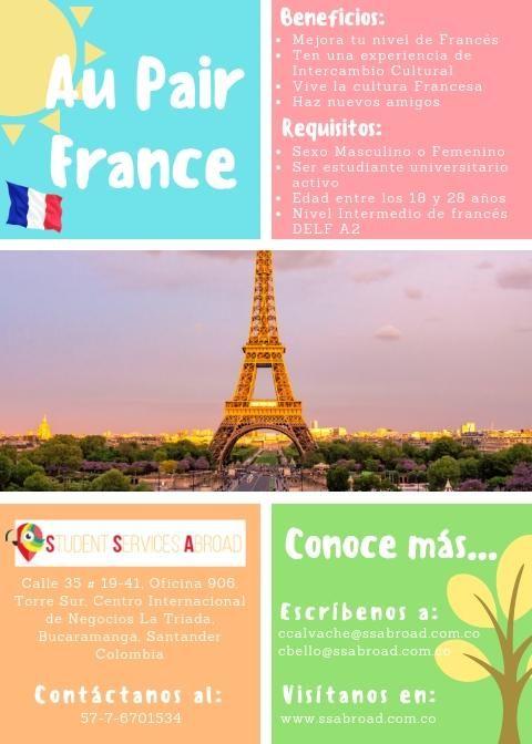 Trabaja como Niñera en Francia: Au Pair France