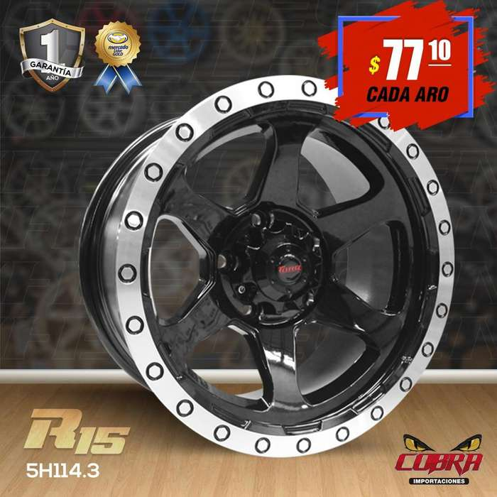 Aro Rin 15 Toyota Hilux 4x2 Ford Ranger Ford Explorer Jeep C_289