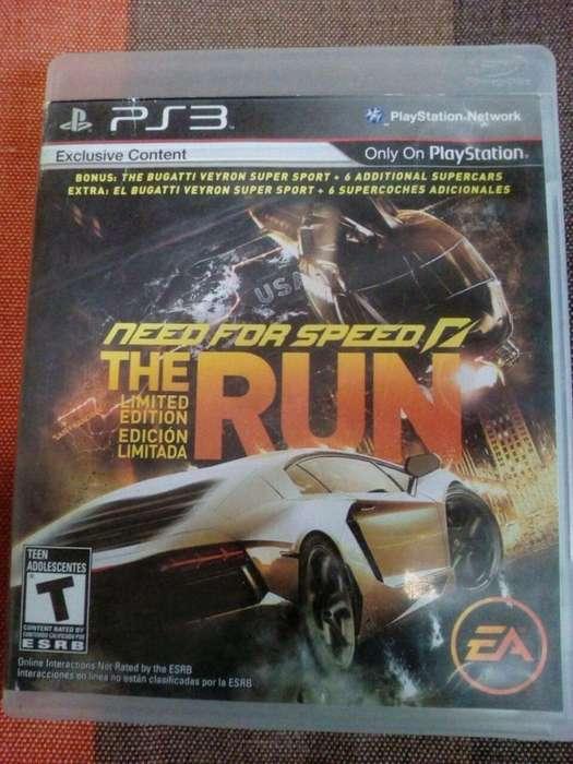 need for speed the run limited edition. recibo tarjetas. local céntrico con garantía. juegos play 3 físico usado. ps3