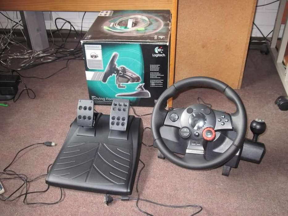 Timon Logitech Driving Force Gt Pc Y Play3 Giro900