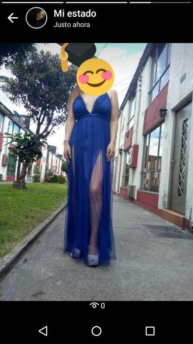 Vestido de Fiesta Una Sola Postura
