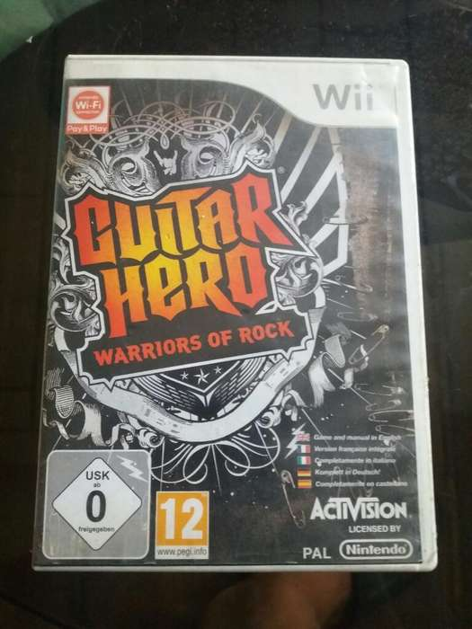 Wii Guitar Hero Pal(europea)