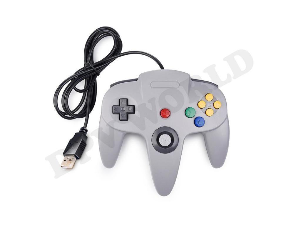 Control PC USB Tipo Nintendo 64