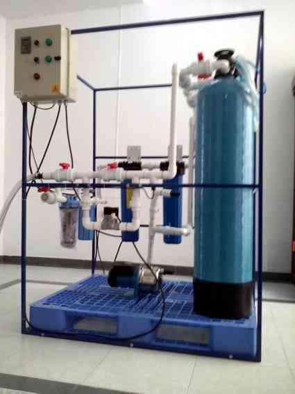 Desionizadores o desmineralizadores filtros de agua, purificación de agua.