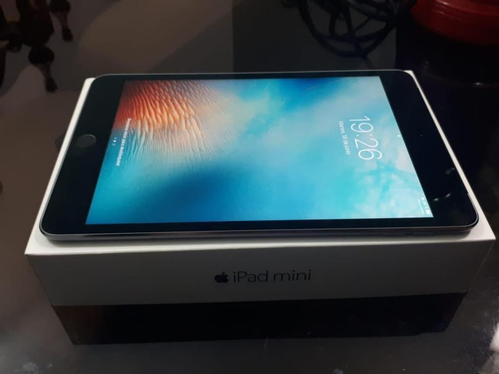 IPAD Mini4 de 16 GB  chip 4G