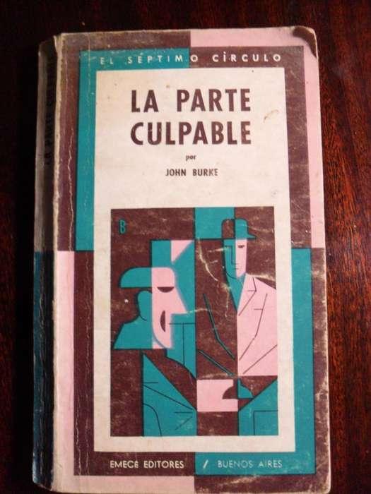 LA PARTE CULPABLE JOHN BURKE 1969 EMECE 173 PAGINAS