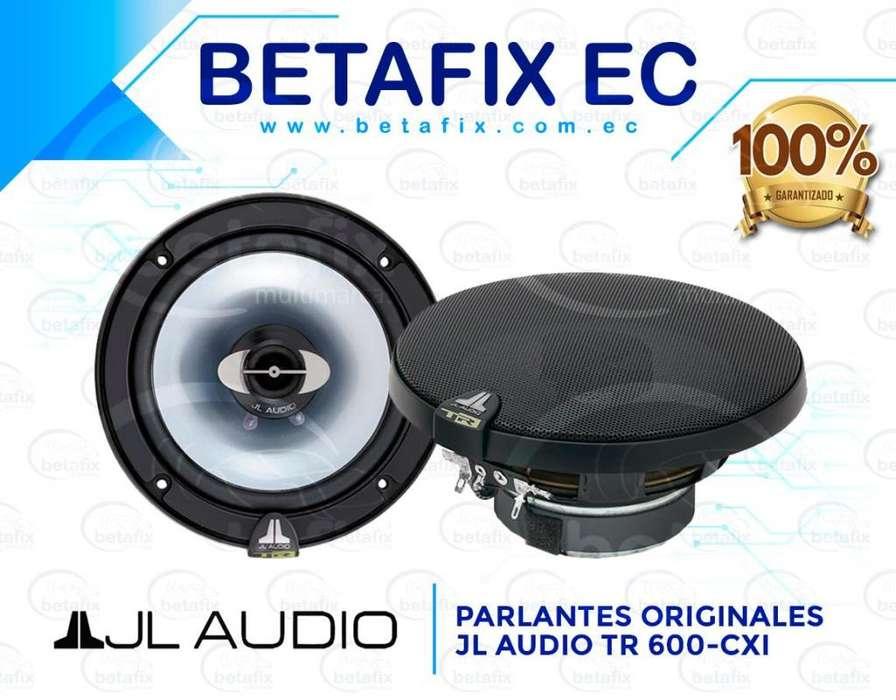 PARLANTES ORIGINALES JL AUDIO TR600-CXi 450W 6