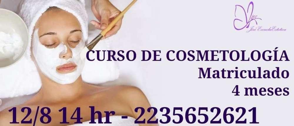 Curso de Cosmetología Matriculado