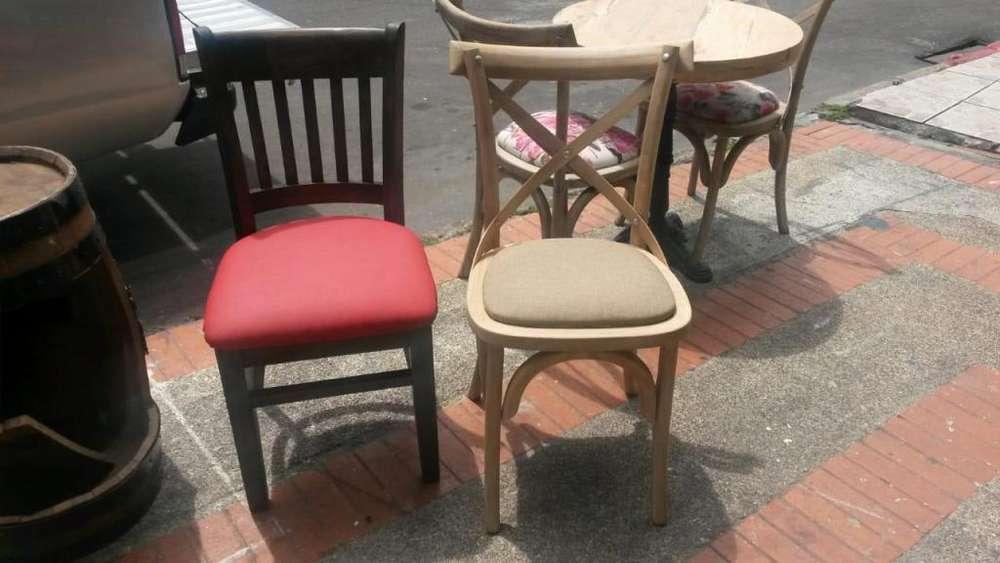 Mesas y <strong>sillas</strong> para restaurantes