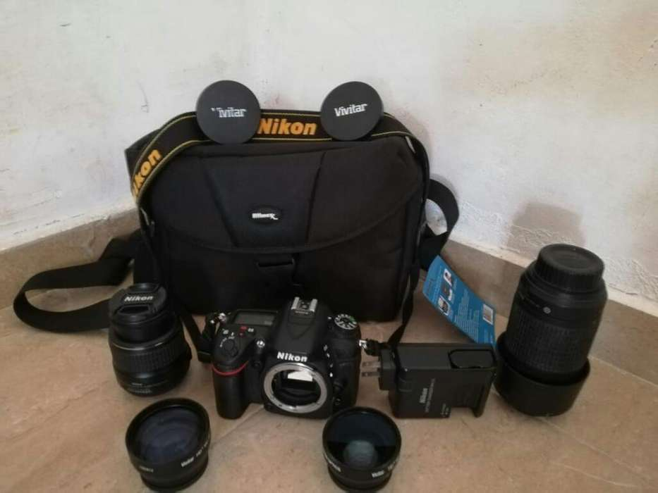 Camara Profesional Nikon D7100