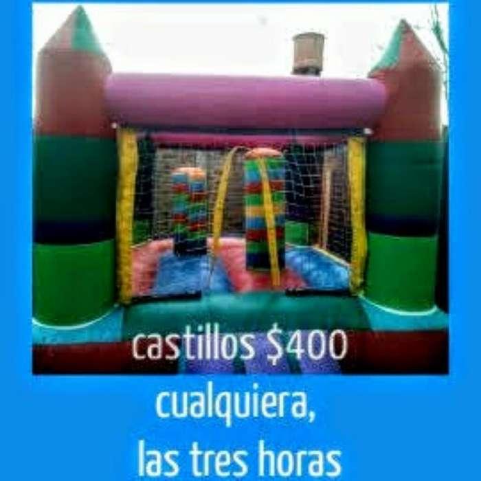 Alquilo Y Reparo Castillos Inflables