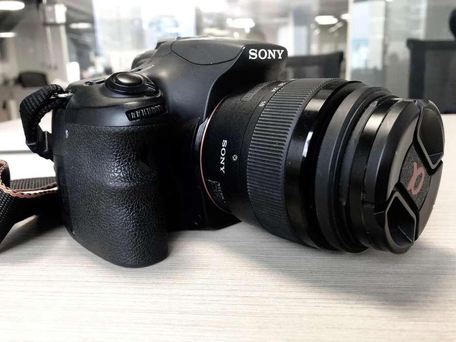 Cámara Sony A58 Semi Profesional