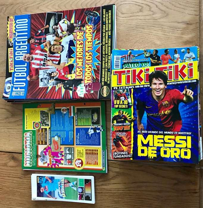 Ediciones Tikitiki Fútbol Completas