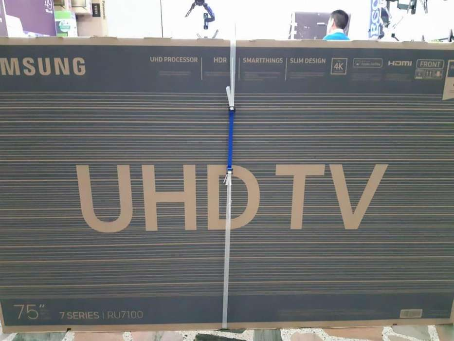 SAMSUNG 75 UHD 4K SMART TV