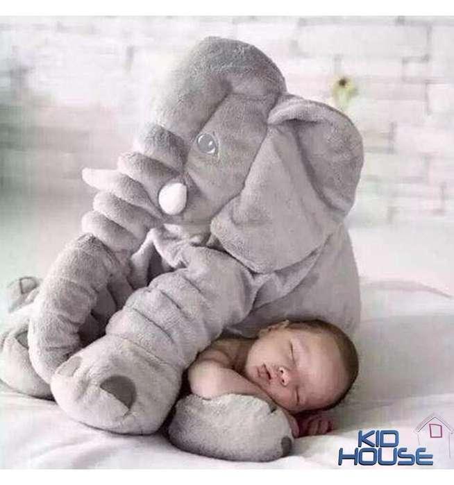 Almohada Peluche Elefante Para Bebé - Ref 1154
