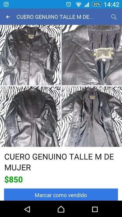 Tapado Cuero <strong>mujer</strong>