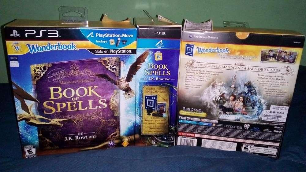 Move Ps3 Cámaramando Y Wonderbook Book Of Spells!