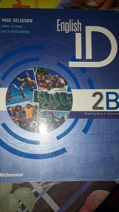 Libro Ingles Id 2b Perfecto Estado!!