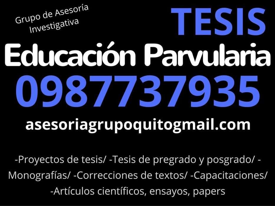 ASESORIA DE TESIS EN EDUCACIÓN