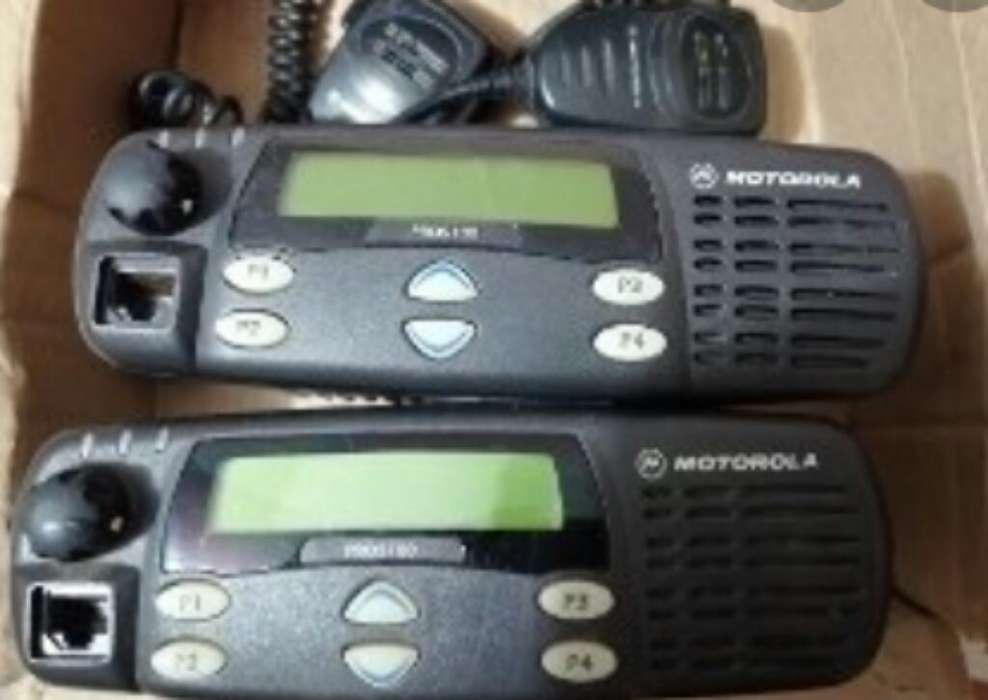 5 Radio <strong>motorola</strong> Pro 5100 Uhf Y Mts 2000