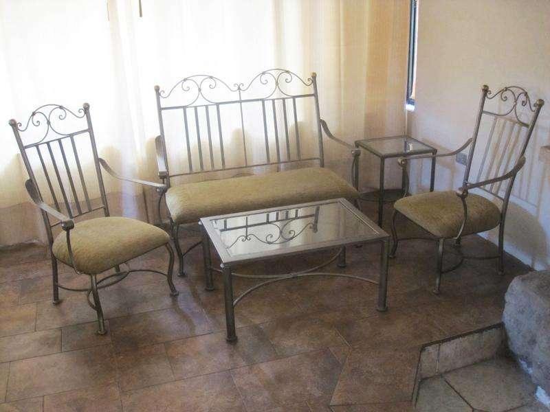 Muebles de SALA y <strong>comedor</strong> de hierro