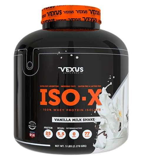 ISO-X 100% Whey Protein Isolate · 5 lb Vexus