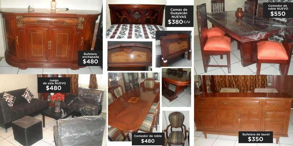 Vendo muebles nuevos y usados