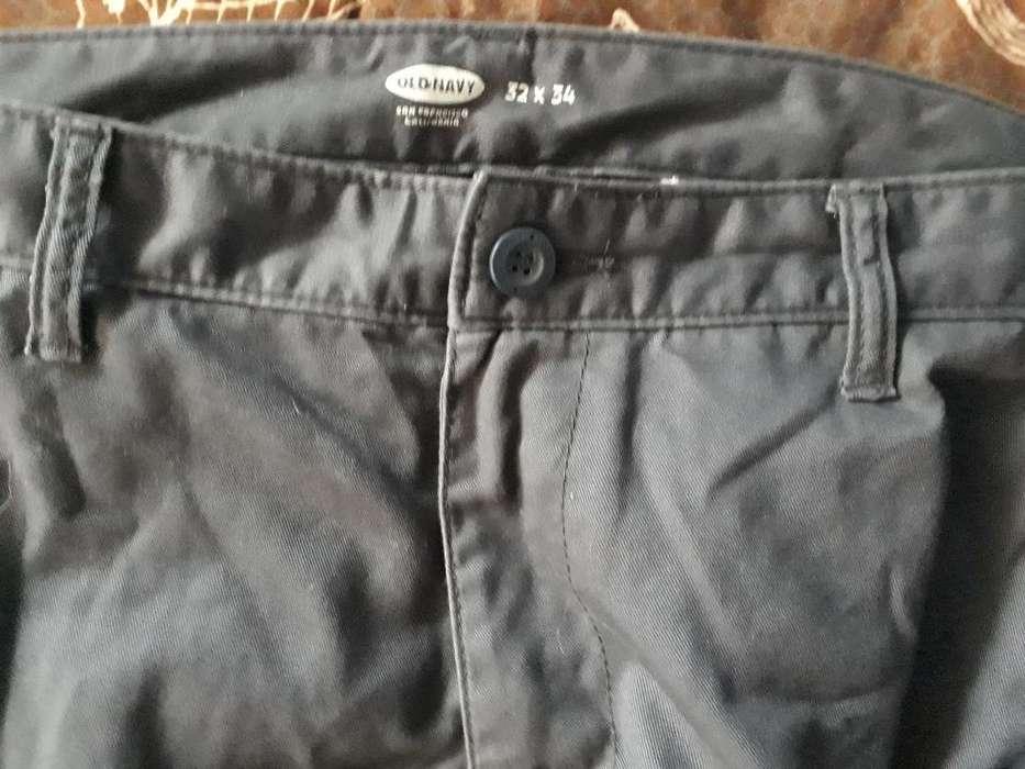 Pantalón Old Navy Talla 32 Medio Uso
