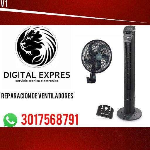 reparación y mantenimiento de ventiladores