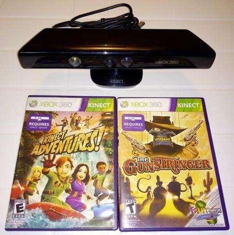 Kinect de Xbox 360, con o sin juegos originales, LEER DESCRIPCION