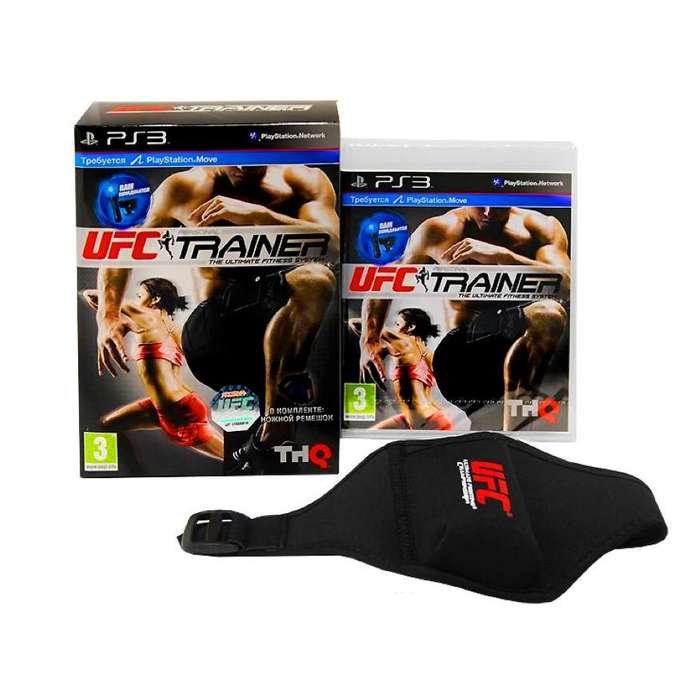 UFC TRAINER PACK JUEGO PS3 ORIGINAL ENVIO GRATIS EN MONTEVIDEO