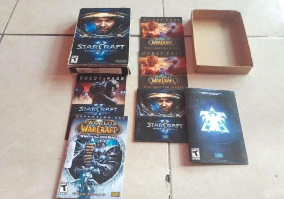 World Warcraft Starcraft 2 Original D Pc