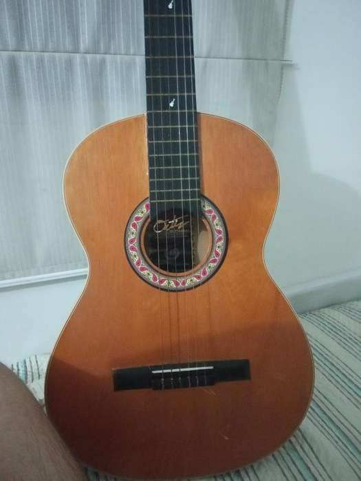 Guitarra Acustica con Estuche Usada