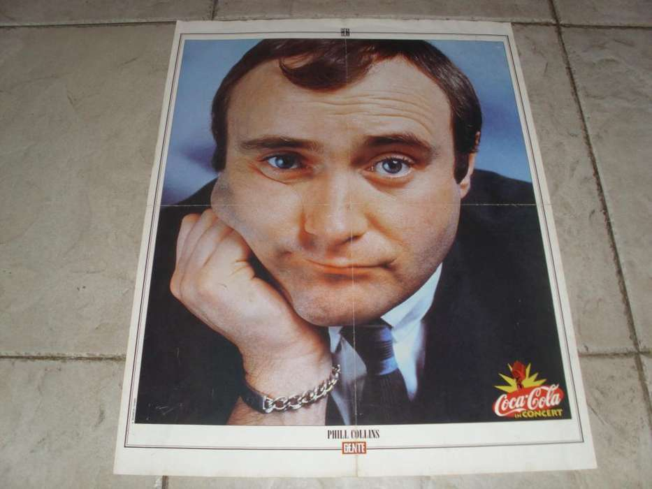 Phill Collins Poster