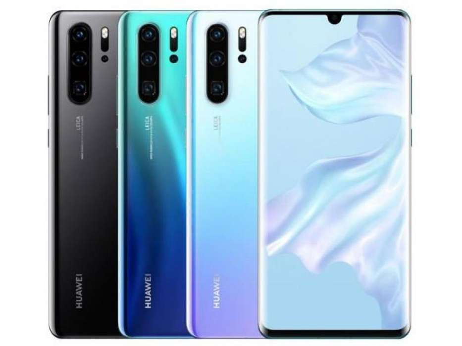 HUAWEI P30 PRO L/FÁBRICA 4200MAH 256GB 8GB FULL HD SELLADO COLORES SOMOS NABYS SHOP PERÚ