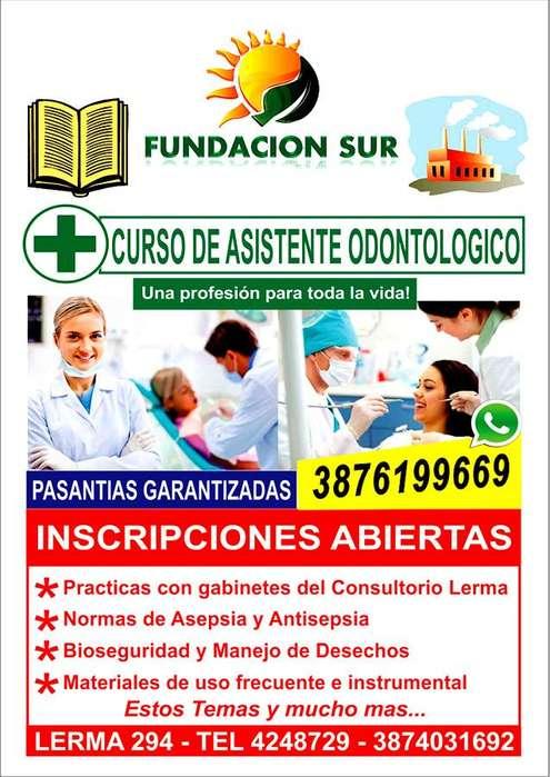CURSO DE ASISTENTE ODONTOLOGICO