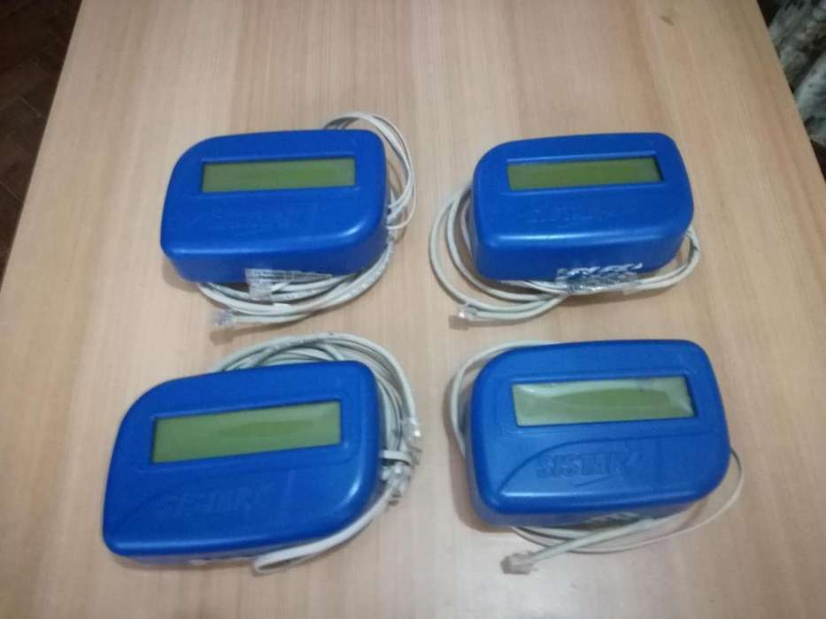Kit de 4 tarifadores marca SISTAR