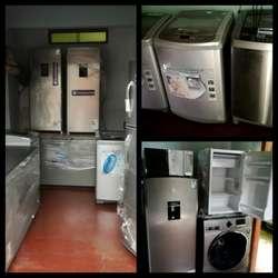 Remate incautados Lavadoras Refrigeradoras congeladoras Microondas frigobar