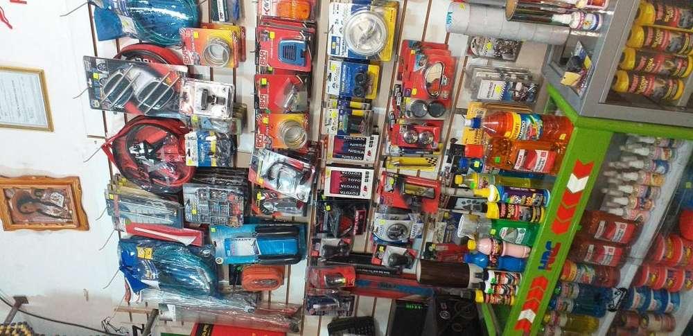 Tienda de accesorios de autos