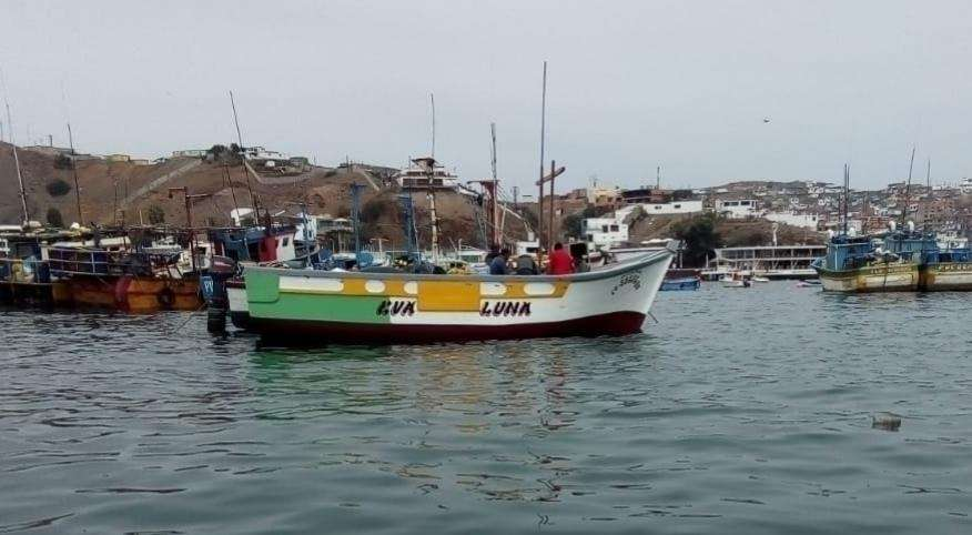 Embarcacion Pesquera 14 toneladas