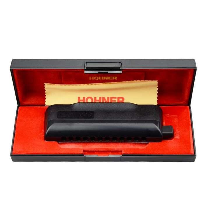 Armonica Profesional Cromatica Hohner CX12 en Do