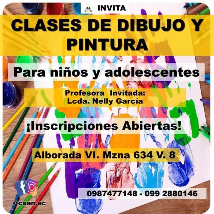 Clases de Dibujo y Pintura para Niños y Adolescentes en Guayaquil